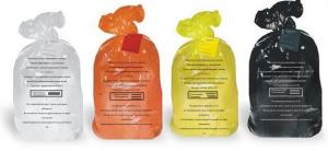 Пакеты для утилизации медицинских отходов А, Б, В, Г