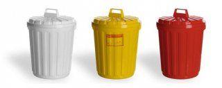 Многоразовые баки для медицинских отходов