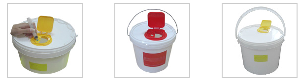 Контейнер для бесконтактного сбора игл 11,0 л. ➤ 95 рублей