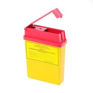 Ёмкость-контейнер для сбора игл 0,25 л.