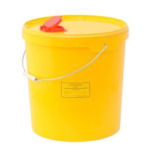 Ёмкость-контейнер для сбора игл 21,0 л.