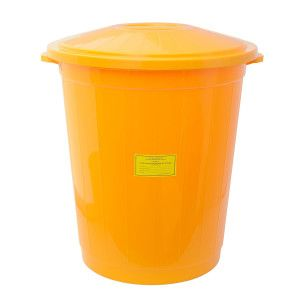 Баки для сбора мед. отходов 60,0 л.